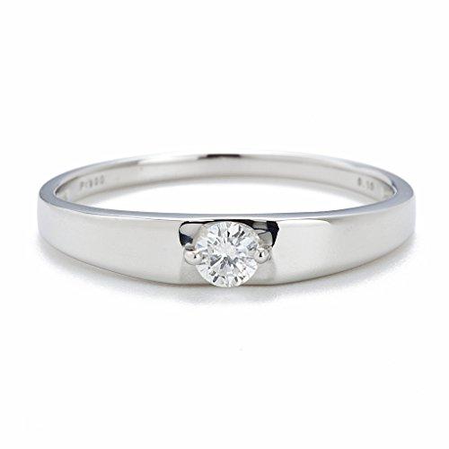 [キャーロ ディ ディアマンテ] CHIARO DI DIAMANTE プラチナ900 ダイヤモンドリング CHD0033 日本サイズ9号