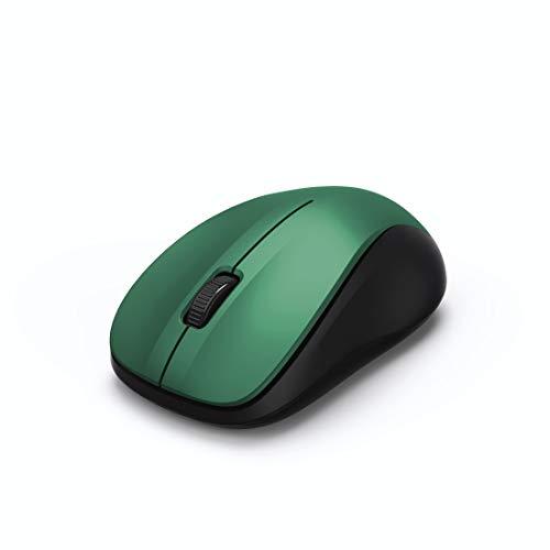 Hama MW-300 Maus RF Wireless Optisch 1200 DPI Beidhändig - Mäuse (Beidhändig, Optisch, RF Wireless, 1200 DPI, Limettenfarbe)