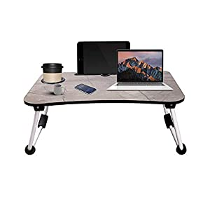 Local Vocal Zone ™ Multi Purpose Laptop Table with Dock Stand | Study Table | Bed Table | Foldable and Portable…
