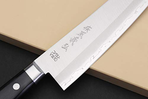 Yoshihiro VG-10 Gold Stainless Steel Gyuto Japanese Chefs Knife 8.25″ (210mm)