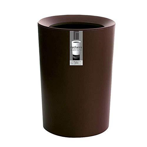 Unauffällig Creative-Beat-Brown for Küche Badezimmer Büro Hotel, Küche oder Pantry, Pragmatische Aufbewahrungsbehälter for Badezimmer, Kleines Büro Ist aus unverwüstlichem Moldable Bento Lunch Box for