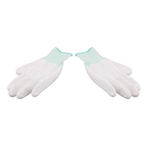 Aexit 1 13 Nylon Arbeitsschutz Antistatische Anti-Rutsch-Handschuhe Weiß Grün (2668d8814ef4f9401066bfb519e2f98c)