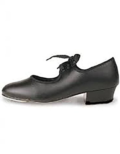 Roch Valley, scarpe da tip-tap da bambina/donna, colore: nero, nero