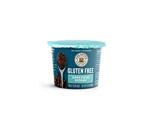 King Arthur, Gluten-Free Single Serve Super Fudge Brownie Mix, Gluten-Free, Non-GMO Project Verified, Certified Kosher, 12 Count