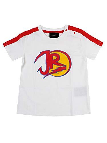 John Richmond Junior - Camiseta blanca para niño, modelo RIP200218TS, mod. RIP200218TS Bianco 95 cm