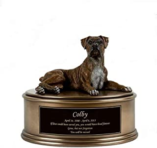 Perfect Memorials Boxer Figurine Cremation Urn