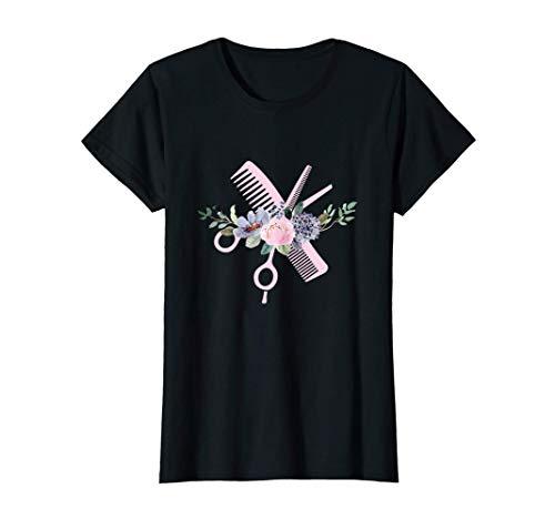 Mujer Peluquero Retro Peluquero - Peluquería Camiseta