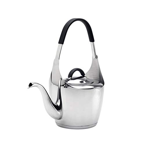 YANG Bouilloire Stove Kettle Kettles Whistling Stovetop Kettle Electric Water-Filter Stainless Steel Kitchen Home Appliances Small Buckingham Electric Kitchen Craft Stove Kettles For Gas Hob Black Gre