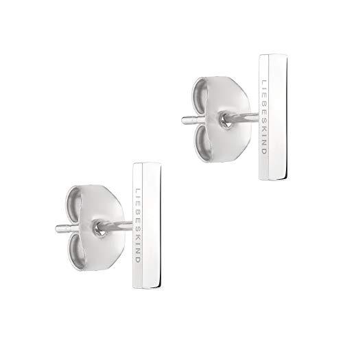 Liebeskind Ohrringe LJ-0464-E-10 Damen Ohrstecker Edelstahl Silber