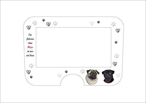 Displaybeschermfolie voor Monsieur Cuisine Connect hond mops zwart beige