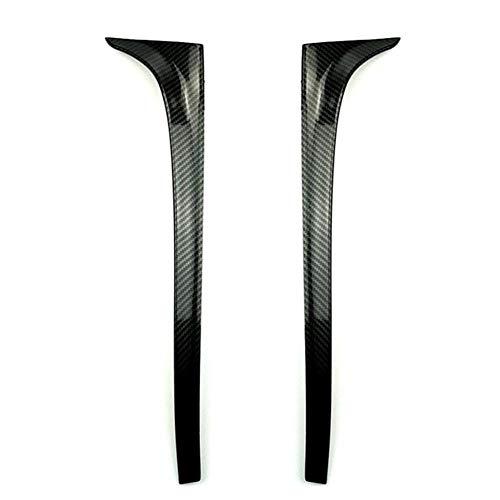 Ala de alerón La fibra de carbono / Negro brillante coche auto-styling techo trasero del ala lateral del labio alerón en forma for el Volkswagen Golf 7 en forma for MK7 7,5 2014-2018 no GTI R