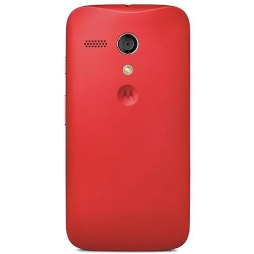 Motorola Color Clip-On Shell Hülle Schale Case Cover für Moto G Smartphone - Rot