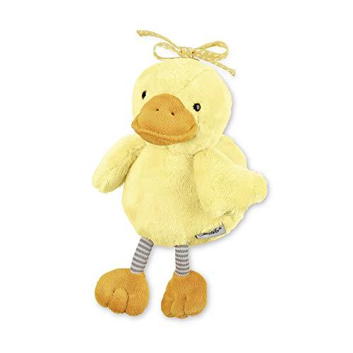 Sterntaler Chilling Box Ente Edda, Digitale Spieluhr, Inkl. Bluetooth-Lautsprecher und USB-Kabel, Alter: Babys ab der Geburt, 20x15x12 cm, Gelb