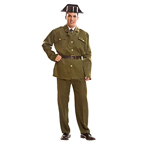 My Other Me Me Me - Disfraz de Guardia civil para adultos, talla M-L (Viving Costumes MOM00980)