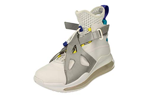 Nike Damen Air Jordan Latitude 720 Hi Top Trainers AV5187 Sneakers Schuhe (UK 5.5 US 8 EU 39, White Dynamic Yellow 100)