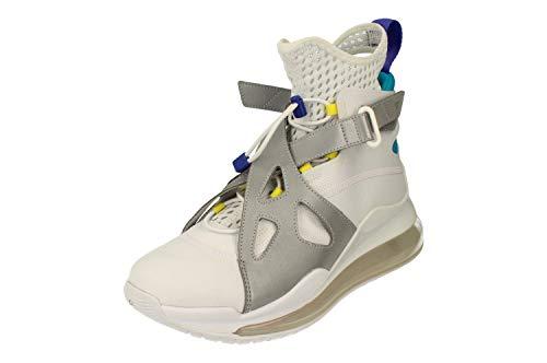 Nike Damen Air Jordan Latitude 720 Hi Top Trainers AV5187 Sneakers Schuhe (UK 6.5 US 9 EU 40.5, White Dynamic Yellow 100)
