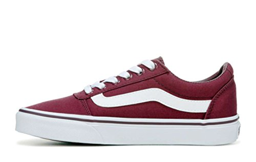 Vans Damen WM Ward Sneakers, Rot ((Canvas) Burgundy Olq), 41 EU
