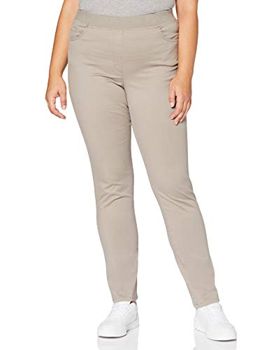 Raphaela by Brax Damen Pamina Hose, Light Taupe, 50K