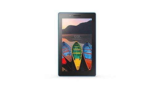 Lenovo Tab3 7 Essential 17,7 cm (7'' WSVGA IPS Touch) Tablet-PC (Mediatek MT8127, 1GB RAM, 16GB eMCP, Android 5.0), Fotocamera posteriore da 2.0 Megapixel con Auto Focus, WLAN, Nero