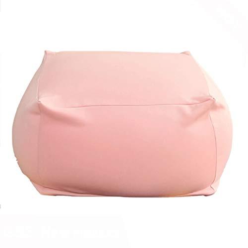 JJZXT Big Square Bean Bag Silla sin Relleno Cómodo sofá Adultos Niños Sofá Perezoso Beanbag Reclinable Reposapiés