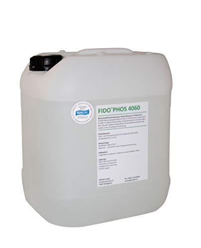 FidoPhos 4060 10 Ltr. Dosierlösung (Alternative zu Grünbeck Exados grün) - neues Etikett, gleicher Inhalt