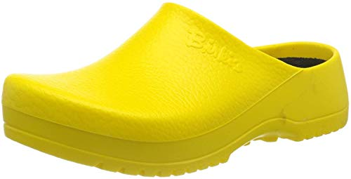 BIRKENSTOCK Birki's Super-Birki Unisex-Erwachsene Clogs (37, Gelb (Yellow))