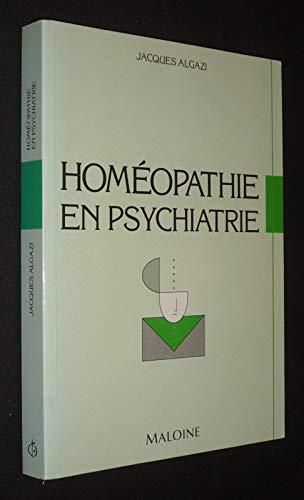 Homéopathie en psychiatrie