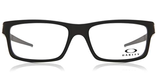 Oakley RX Eyewear Occhiali da sole Da Uomo OX8026 Currency - 802601: Nero satinato
