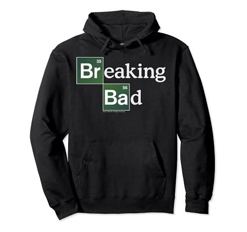 Breaking Bad Periodic Square Logo Felpa con Cappuccio