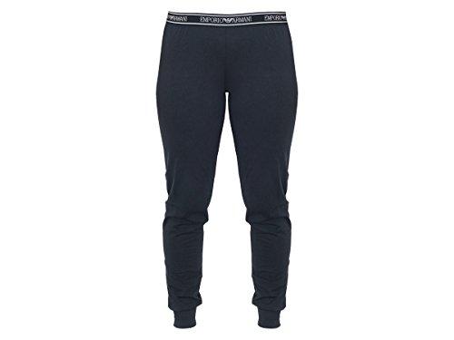 Pantalones Emporio Armani para mujer largos, pantis, loungewear, puños de graduación: Colour: Navy | Size: Large