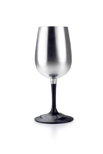 GSI Outdoors - Stainless Steel Glacier Nesting Wine Glass 10.8 fl. oz.