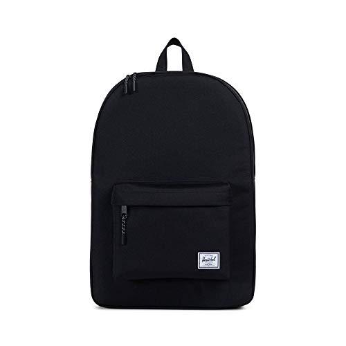 Herschel 10001-00001 Classic Backpack Rucksack, 1 Liter,Schwarz