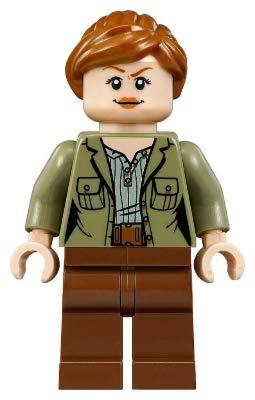 LEGO Jurassic World Claire Dearing Minifigura de 10758 (Embolsado)