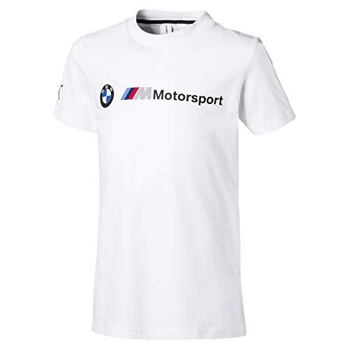 PUMA BMW M Motorsport Logo Kinder T-Shirt Puma White 116