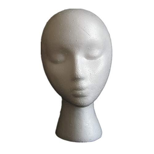 tete a perruque tete perruque Mousse tête Tête de mannequin pour perruques Perruque mannequin tête Tête en mousse de polystyrène Maniquine tête