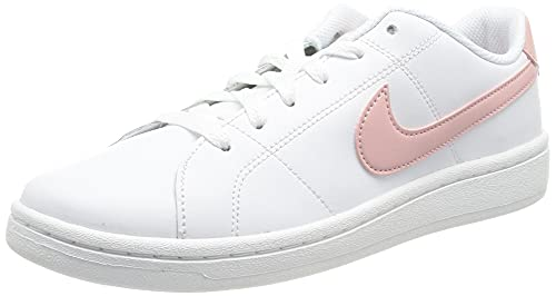 Nike Court Royale 2, Chaussure de Tennis Femme, White/Pink Glaze, 42 EU