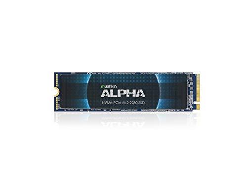 Mushkin Alpha – 8TB PCIe Gen3 x4 NVMe 1.3 – M.2 (2280) Internal Solid State Drive (SSD) – 3D QLC - (MKNSSDAL8TB-D8)