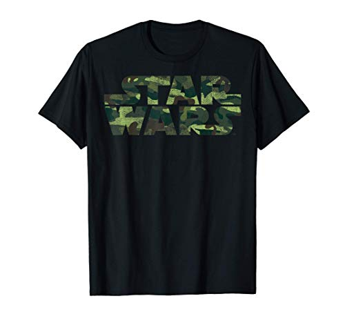 Star Wars Classic Logo Camouflage T-Shirt