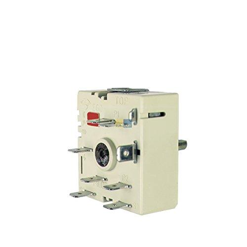 Energie regelaar kookplaat schakelaar ego 50.57031.010, 400V als whirlpool bauknecht 481227328049