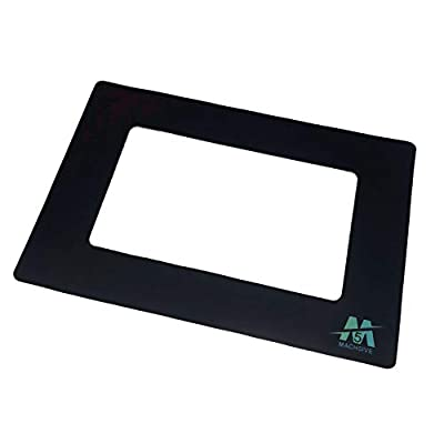 Mach5ive Stick-on Vinyl LCD Screen Gaskets for 3D Resin Printers [3-Pack]