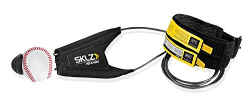 SKLZ Hit-A-Way Batting Swing Trainer for Baseball and Softball, Baseball , Black