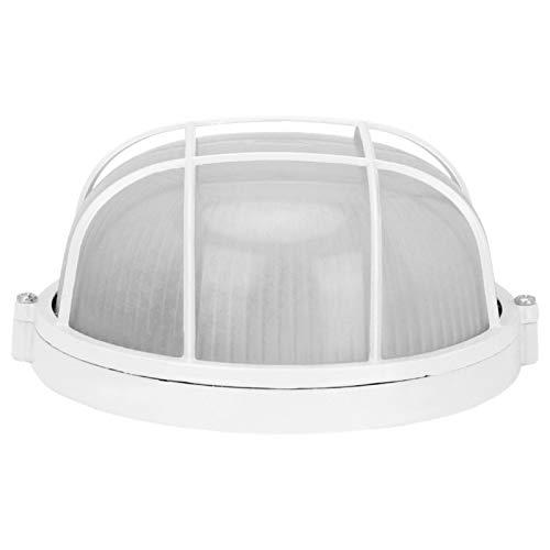 Explosionsgeschützte Lampe, Anti-Hochtemperatur-Praktische Rundlampe E27 Gewinde Glühbirne Langlebiges Saunazubehör, Saunalampe, für Saunaraum-Dampfbad