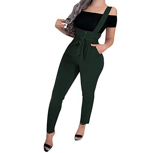 Buyaole,Pantalones Vestir Mujer,Mono Verde Mujer,Vaqueros Acampanados Mujer,Leggins Verdes,Ropa Mujer XS,Vestidos Vintage Mujer...