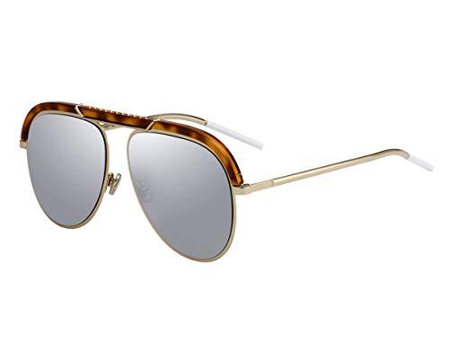 Christian Dior Sonnenbrillen (DiorDesertic 2IKOT) gold - havana - brau-grün - silber verspiegelt