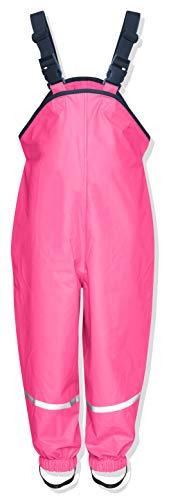Playshoes Unisex Kinder Regenhose, Buddelhose, Matschhose, Rot (Pink)Gr.98