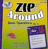 WIEBE CARLSON ASSOCIATES Zip Around Basic Operations Set A WCA 4491