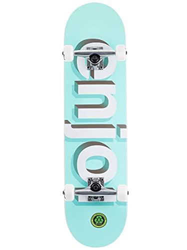 Enjoi - Skateboards completi First Push Helvetica Neue Aqua 8 x 31.6