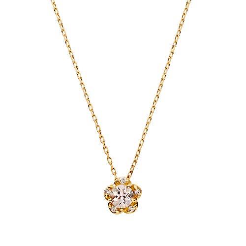 [VAヴァンドーム青山] ダイヤモンド 0.02ct イエローゴールド K18 ネックレス GGVN009940MO