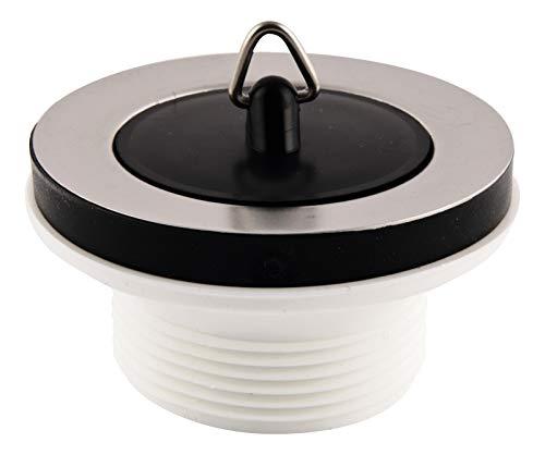 Stopfenventil für Küchenspülen | Abflussventil | Ablaufventil für Spülbecken | 11/2 Zoll