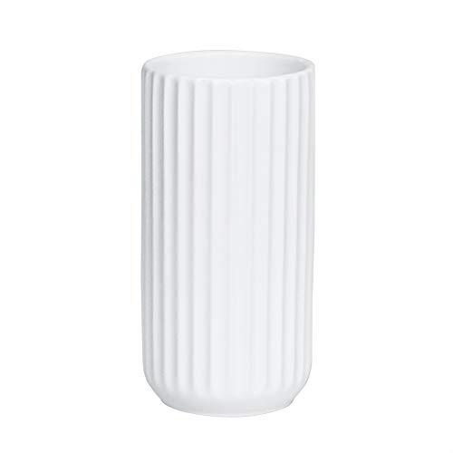HCHLQLZ Blumenvase aus Keramik, 17,8 cm, Weiß, keramik, weiß, 17,78 cm (7 Zoll)